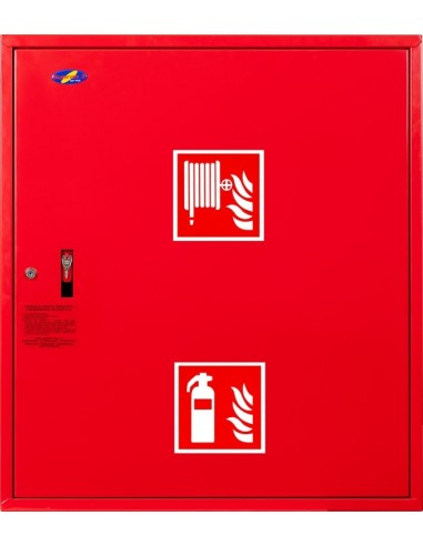 Hydrant zawieszany FI25 z msc. na gaśnicę - wersja wertykalna, prawy