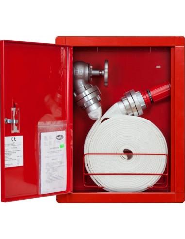 Hydrant wnękowy FI52 - wąż zwinięty w krąg