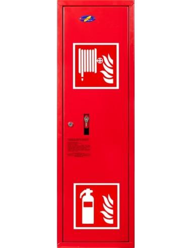 Hydrant wewnętrzny 25 wnękowy, z msc na gaśnicę,wykonanie boczne