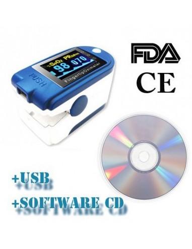 Pulsoksymetr CMS 50D + , USB, oprogramowanie