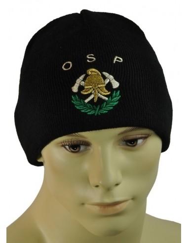 Czapka zimowa logo OSP