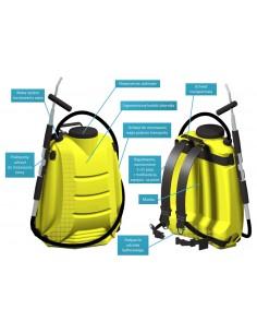 Hydronetka plecakowa ERGO S1