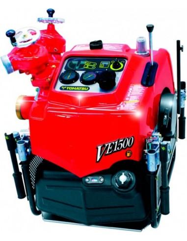 Przenośna motopompa VE1500 TOHATSU z elektronicznym wtryskiem paliwa