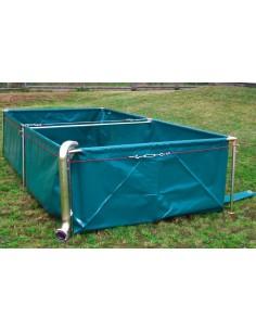 Zbiornik wodny 5000 litrów ze stelażem