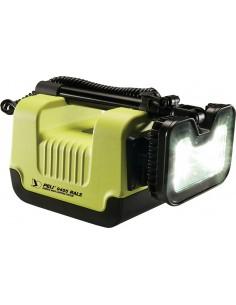 Maszt oświetleniowy PELI 9455 RALS ATEX, Strefa 0, żółty