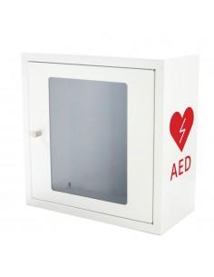 Szafka na defibrylator AED - biała