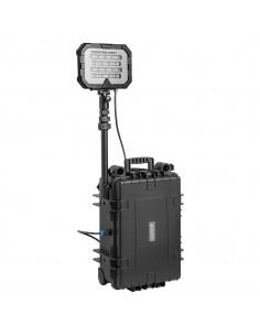 Przenośny system oświetleniowy o dużej mocy, z jedną głowicą 50Ah, Floodlight Single 18000 lm