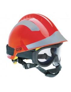 Hełm ratowniczy GALLET F2 X-TREM zgodny z EN 12492 czerwony