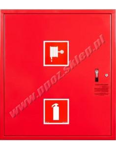 Hydrant zawieszany FI25 z msc. na gaśnicę - wersja wertykalna, lewy