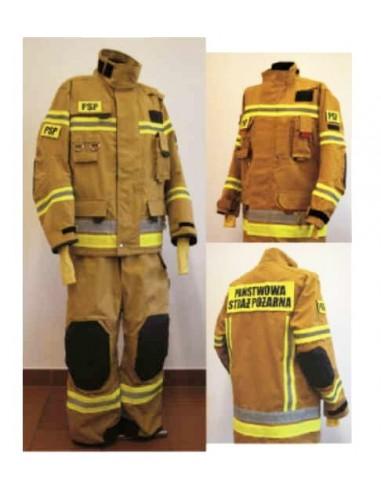 Ubranie specjalne FHR 008 Max PL/M + Kurtka lekka ubrania FHR 018 - komplet trzyczęściowy