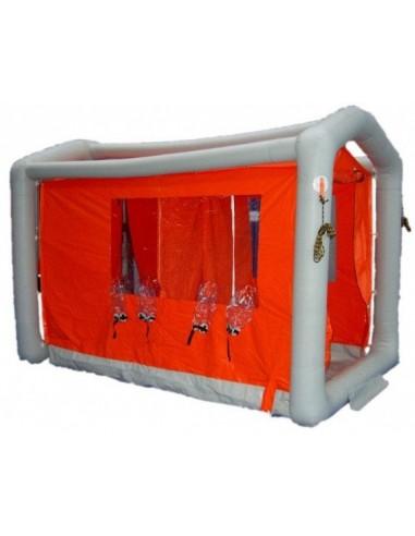 Pneumatyczna kabina dekontaminacyjna dla ratowników (duża)