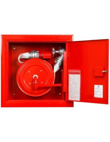 Hydrant wnękowy FI52 - wąż nawinięty na zwijadło
