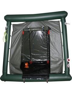 Pneumatyczna kabina dekontaminacyjna dla ratowników (średnia)