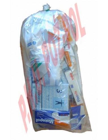 Opatrunki do tamowania krwotoków i opatrywania ran - zestaw