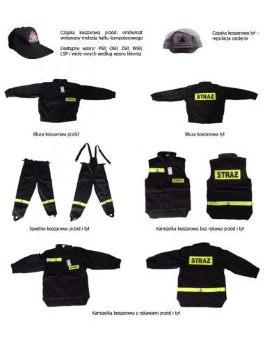 Ubranie koszarowe RIBSTOP 4-częśc. (Kamizelka bez rękawów)