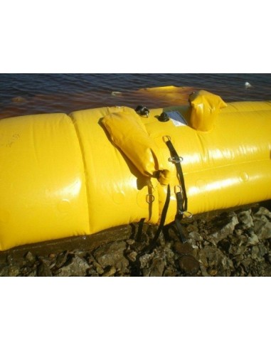 Wał (zapora) przeciwpowodziowy z PCV (wysokości 100cm , średnicy podstawy 200cm)