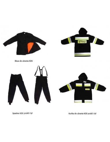 Ubranie specjalne dla kadry dowódczo sztabowej POLIAMID