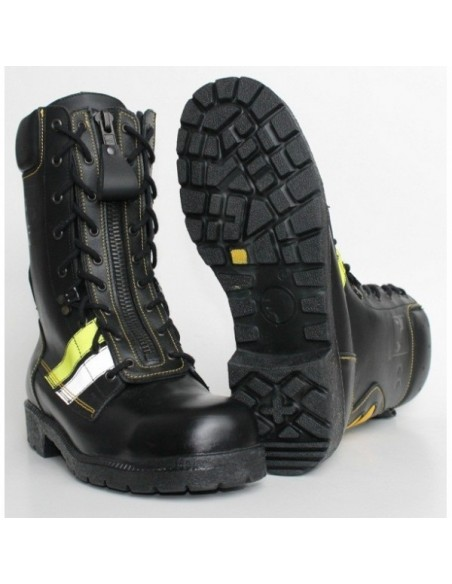 Buty strażackie specjalne skórzane