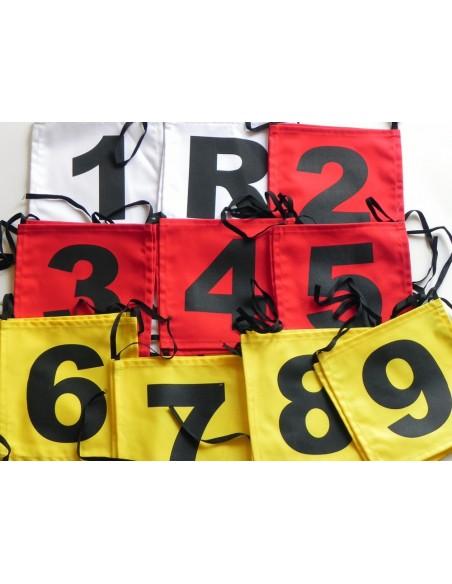 Oznaczenia funkcyjne na zawody strażackie