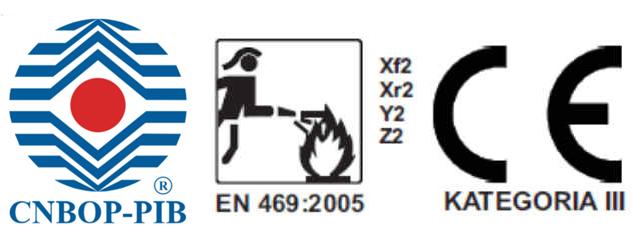 Ubranie specjalne FHR 008 3 częściowe cnbop