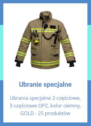 Ubrania specjalne dla OSP z dotacji 5000 plus COVID 2021 r.