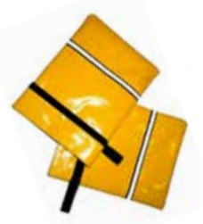 Zestaw 6 pokrowców z magnesem na słupki