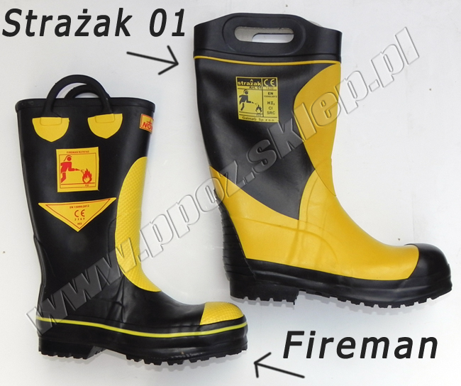 Buty Fireman