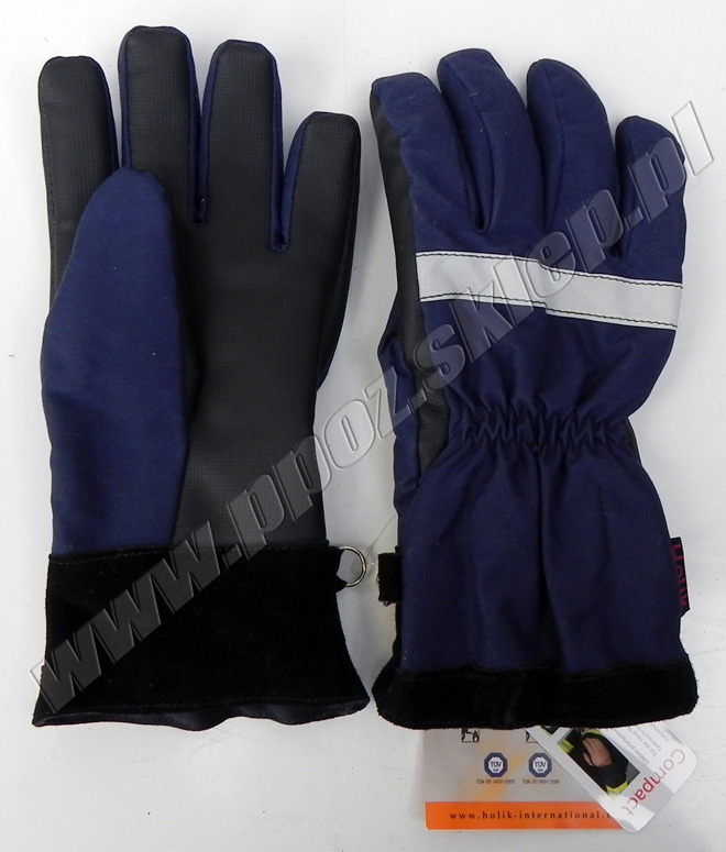 rękawice na akcję strażacką