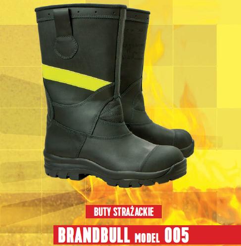 Opis obuwia strażackiego