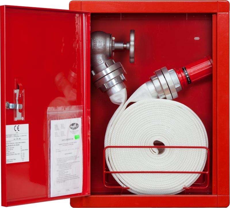 Hydrant zawieszany FI52 - wąż zwinięty w krąg